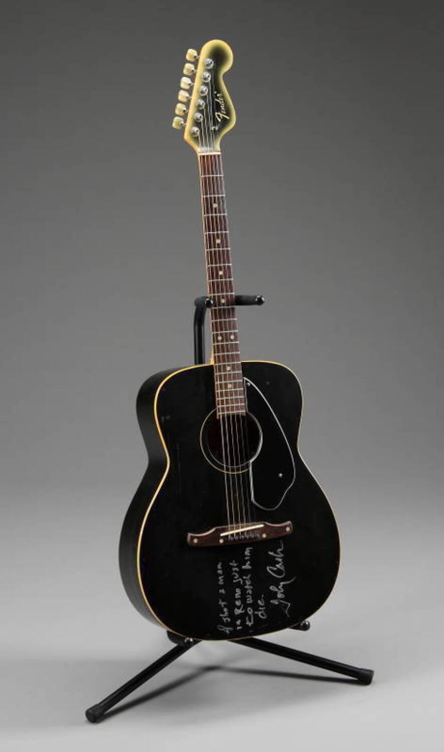 johnny cash owned and played guitar current price 50000. Black Bedroom Furniture Sets. Home Design Ideas