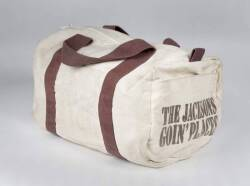 MICHAEL JACKSON SIGNED DUFFLE BAG