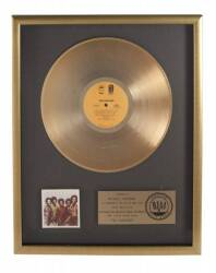"THE JACKSONS ""GOLD"" RECORD AWARD"