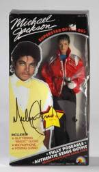 MICHAEL JACKSON SIGNED DOLL