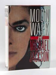 MICHAEL JACKSON DOUBLE INSCRIBED MOONWALK