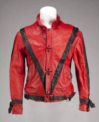 "MICHAEL JACKSON SIGNED REPLICA ""THRILLER"" JACKET"