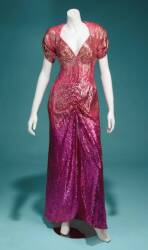 BETTE MIDLER GOWN BY BOB DE MORA