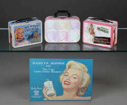 ANNA NICOLE SMITH COLLECTION OF MARILYN MONROE LUNCH BOXES