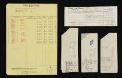 MARILYN MONROE BANK STATEMENT AND DEPOSIT SLIP