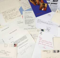TONY CURTIS CELEBRITY CORRESPONDENCE