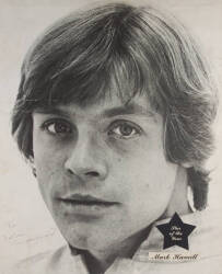 MARK HAMILL SIGNED POSTER
