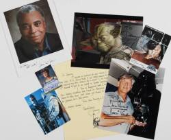 STAR WARS CAST SIGNED EPHEMERA