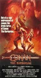 CONAN THE BARBARIAN CONAN POSTER ART DEPARTMENT MOCK-UP POSTER