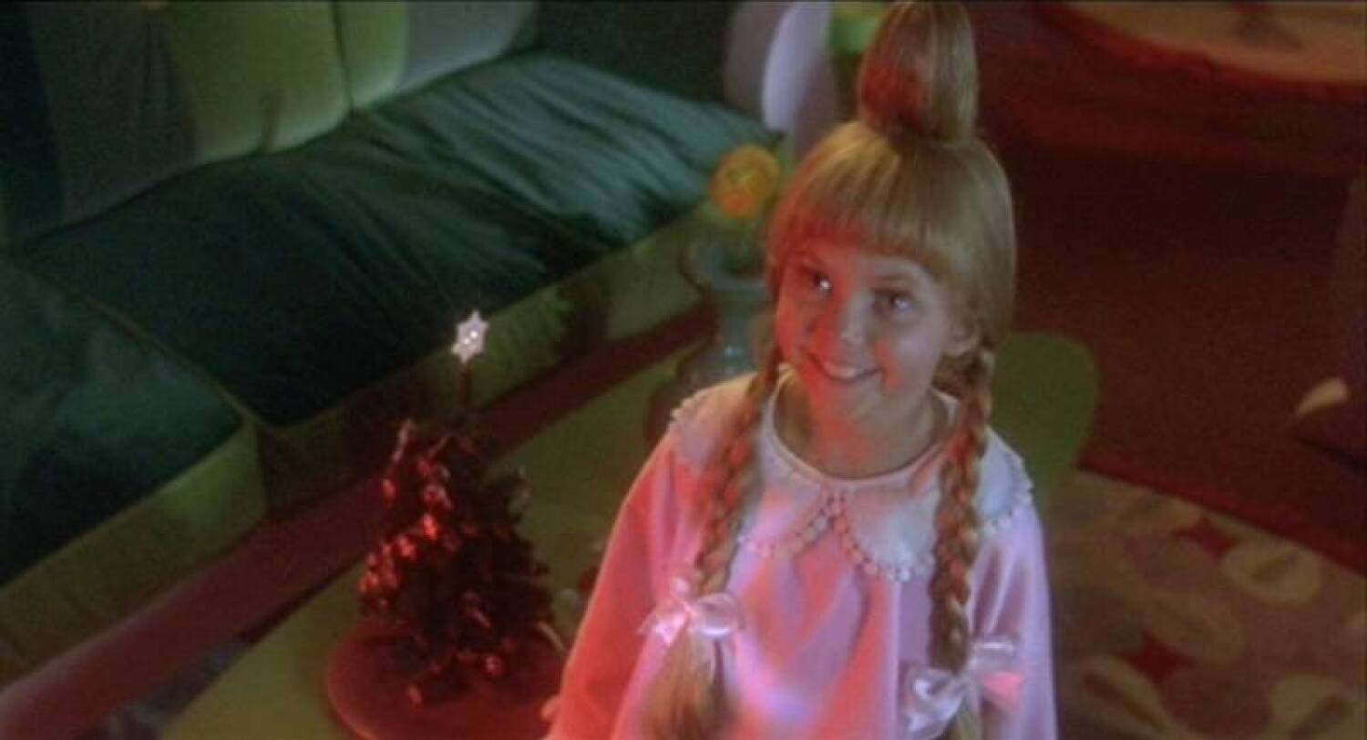 How the grinch stole christmas cindy lou who