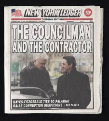 LAW & ORDER : CRIMINAL INTENT STEPHEN GEVENDON PROP NEWSPAPER