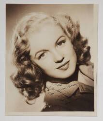 MARILYN MONROE EARLY SIGNED PHOTOGRAPH
