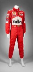 MICHAEL SCHUMACHER PRESENTATION & TEST WORN SUIT