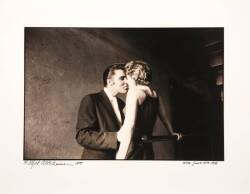 ELVIS PRESLEY ALFRED WERTHEIMER THE KISS PHOTOGRAPH