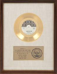 "THE DOORS ""GOLD"" RECORD AWARD"