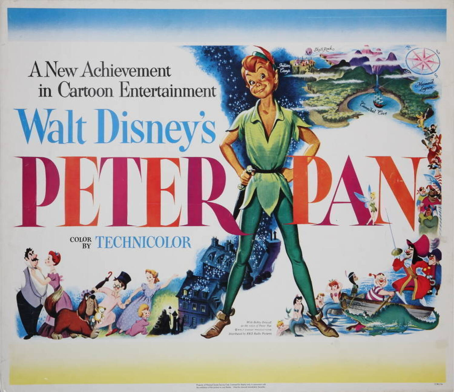 """PETER PAN"""" POSTERS - Current price: $300"""