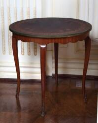 MARQUETRY OCCASIONAL TABLE