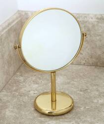 BRASS VANITY TABLE MIRROR