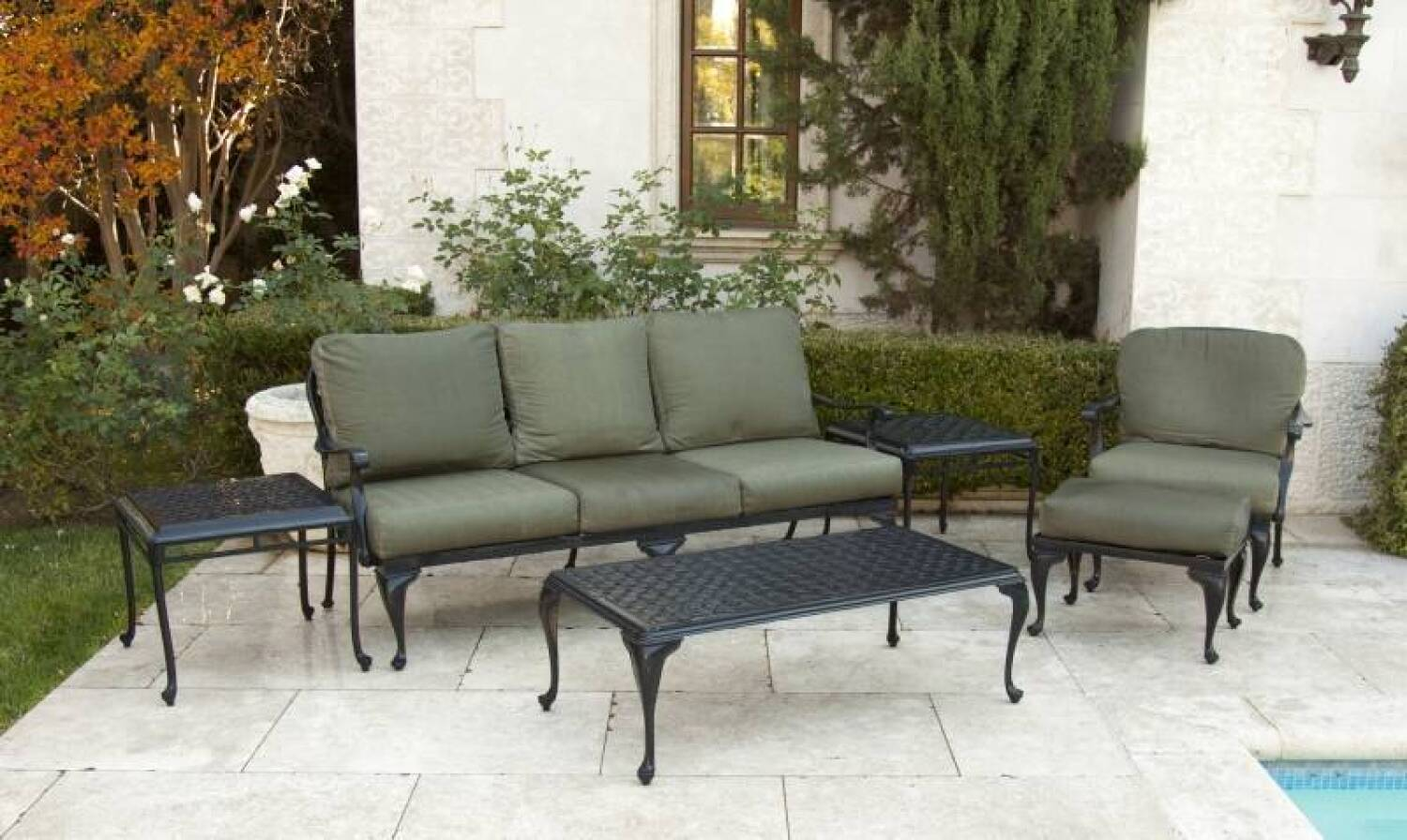 Group Of Smith And Hawken Patio Furniture Current Price