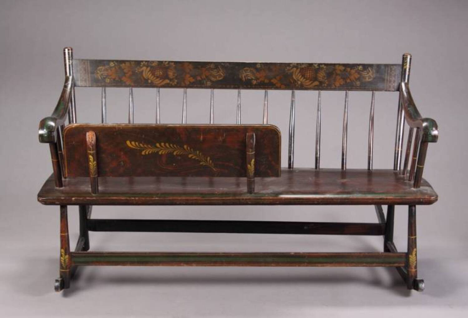 Antique Wooden Bench10