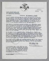 MARILYN MONROE SIGNED MCA ARTISTS CONTRACT