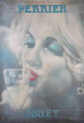 ANNA NICOLE SMITH OWNED MARILYN MONROE PAINTING