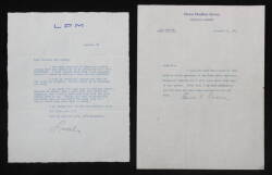 MIA FARROW LETTERS FROM LOUELLA PARSONS