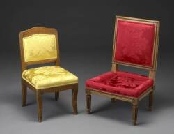 TWO 20TH CENTURY SLIPPER CHAIRS