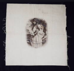 MARY PICKFORD PHOTOGRAPH ON FABRIC