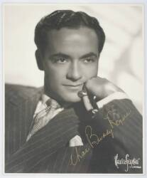 BUDDY ROGERS SIGNED PHOTOGRAPH