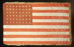 MARY PICKFORD OWNED AMERCIAN FLAG