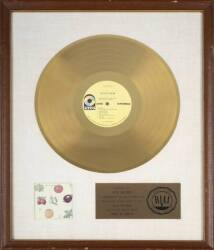CREAM GOLD RECORD AWARD FOR BEST OF CREAM