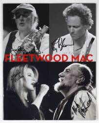 FLEETWOOD MAC SIGNED TOUR BOOK