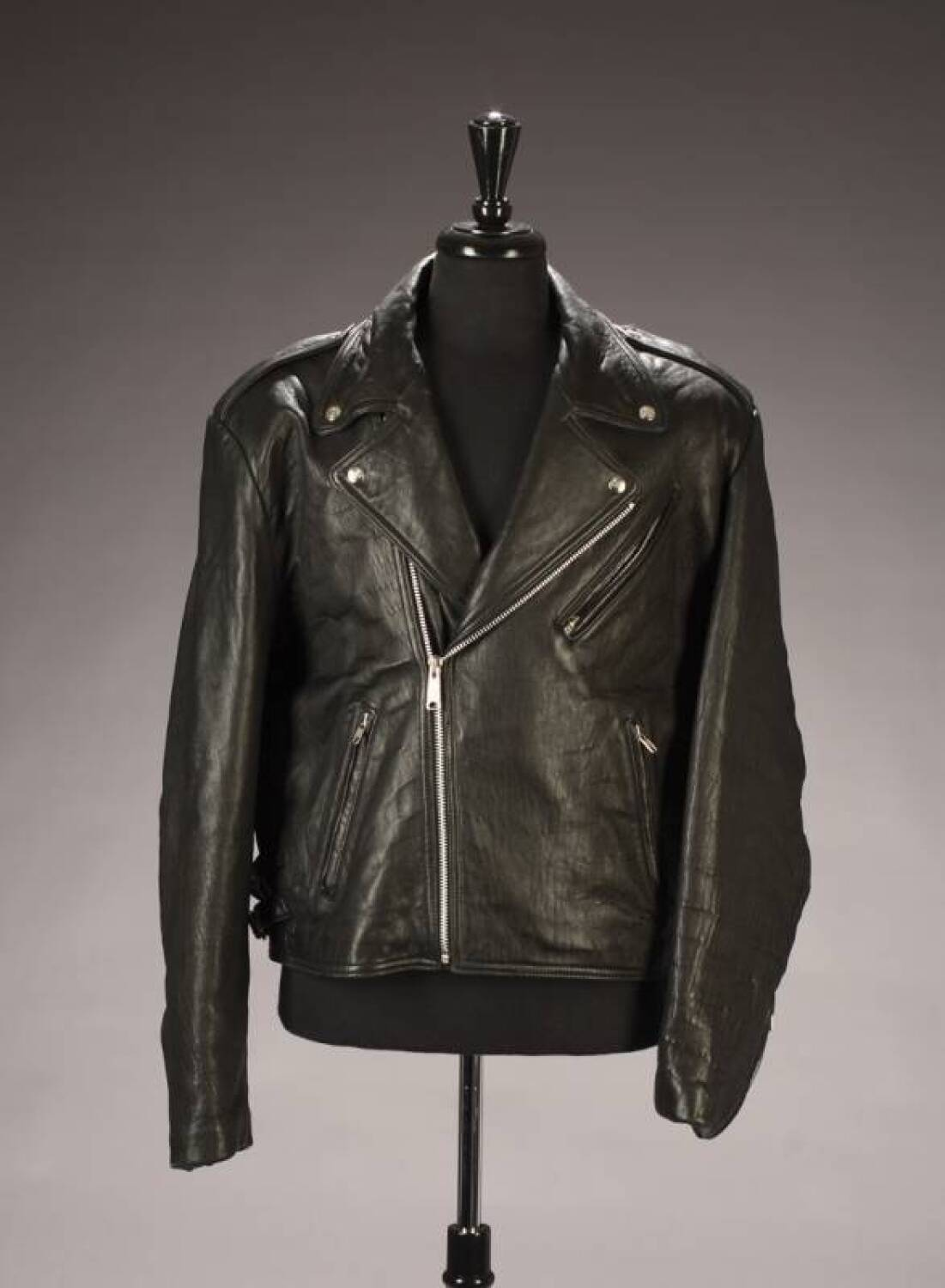 File:Hard Rock Cafe Florence - John Lennon leather jacket (The Beatles