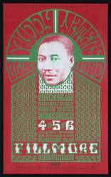 MUDDY WATERS AT THE FILLMORE POSTER