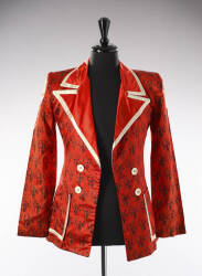 RON WOOD SILK JACKET SIGNED BY THE ROLLING STONES