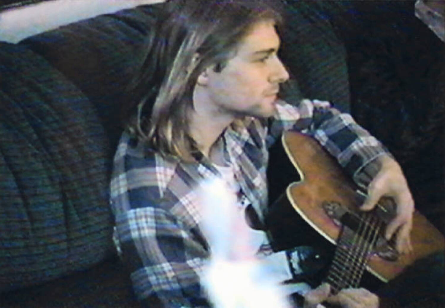KURT COBAIN EARLY PLAYED ACOUSTIC GUITAR - Current price: $0