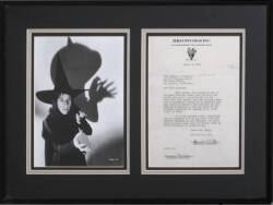 MARGARET HAMILTON CONTRACT WITH RKO STUDIOS