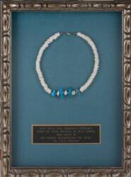 ELVIS OWNED AND WORN PUKA SHELL NECKLACE