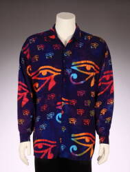 STEVEN TYLER OLD WEST AND EYE OF HORUS SHIRTS