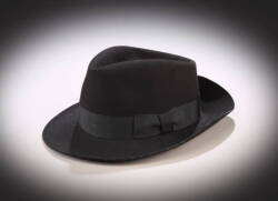 MICHAEL JACKSON BLACK FEDORA FROM THE 1995 MTV