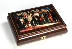 MICHAEL JACKSON SIGNED MUSIC BOX