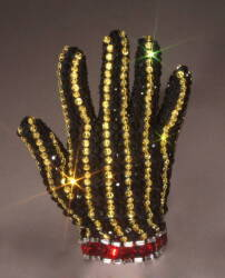 MICHAEL JACKSON BLACK FANTASY GLOVE