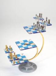 STAR TREK TRIDIMENSIONAL CHESS SET