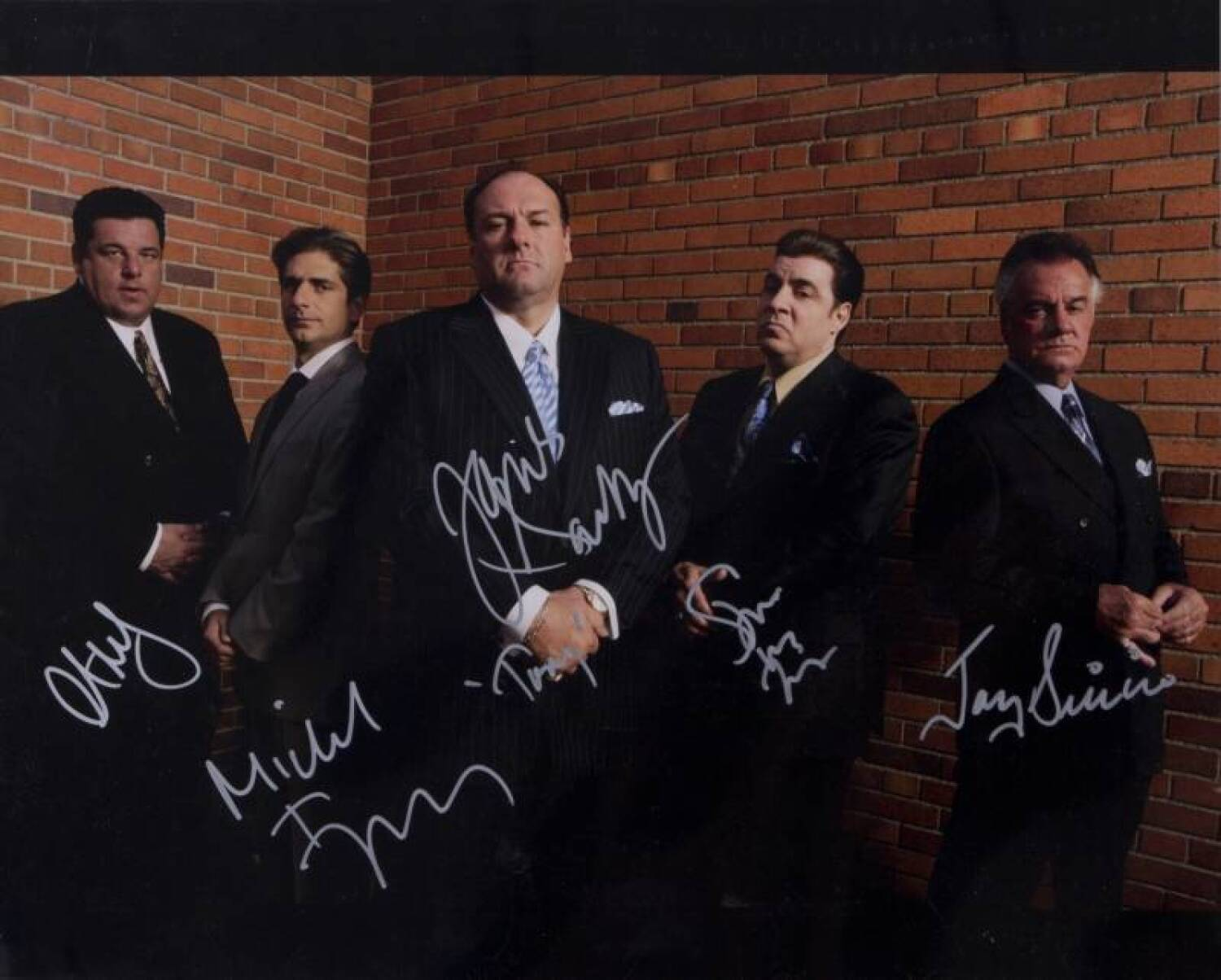 The sopranos cast signed photograph current price 1100