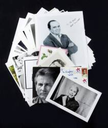 COLLECTION OF CELEBRITY SIGNED PHOTOGRAPHS