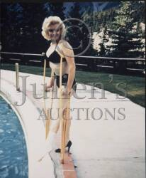 MARILYN MONROE COLOR PHOTOGRAPH AND COPYRIGHT