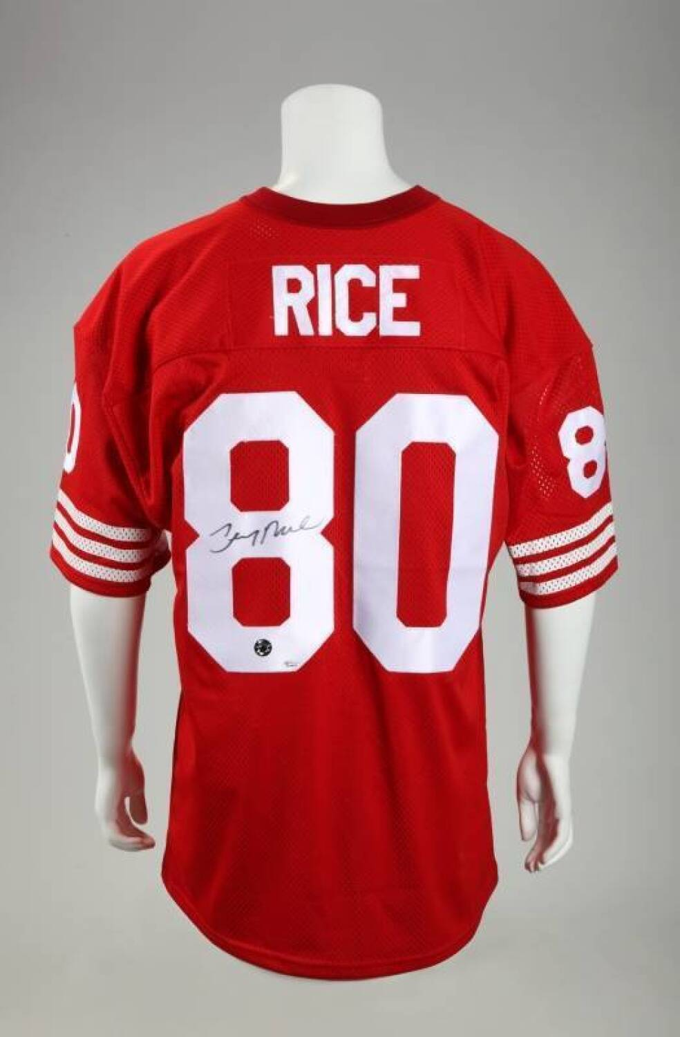 reputable site 1d13c 98a56 JERRY RICE SIGNED SAN FRANCISCO 49ers JERSEY - Price ...